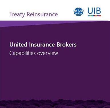 Treaty Reinsurance brochure