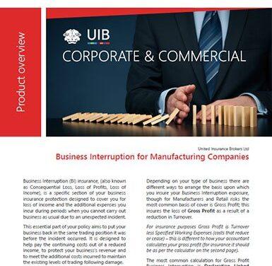 C&C – Business Interruption