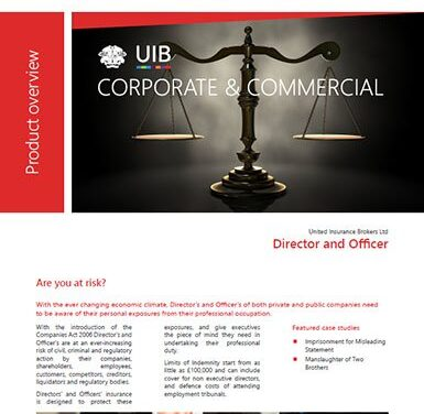 C&C – Director & Offices Liability (D&O)