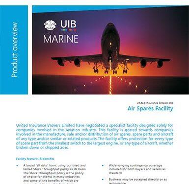 Marine Cargo – Air Spares