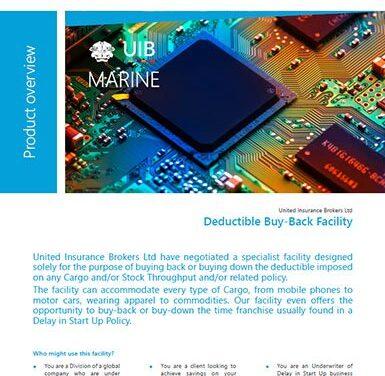 Marine Cargo – Deductible Buy Back